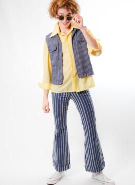 Мужской костюм в стиле 70х — 80х годов