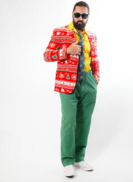 Мужской костюм в стиле ретро к новогодней вечеринке