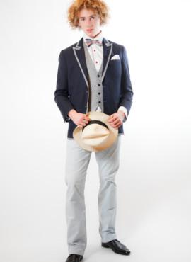 Мужской костюм тройка  в стиле Гетсби