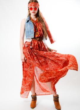 Костюм в стиле 70х годов / Платье в стиле Хиппи