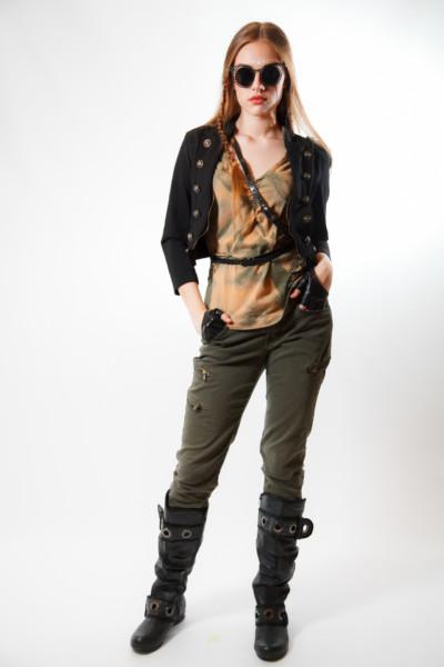 Женский костюм в стиле стимпанк