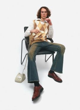 Мужской костюм в ретро стиле 70х — 80х годов
