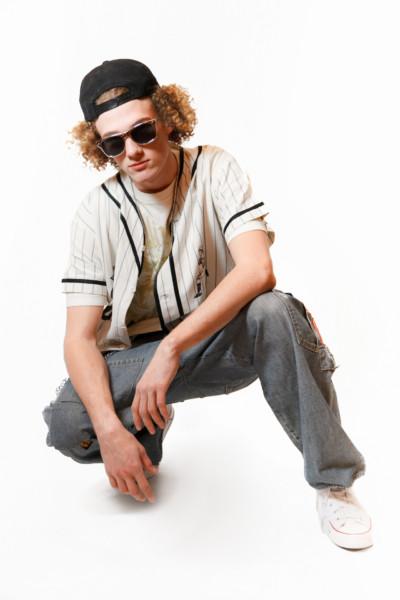 Костюм в стиле 90х годов — Рэпер из 90х