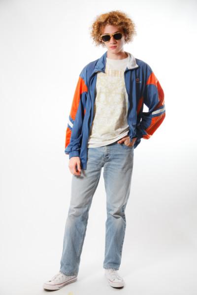 Костюм в стиле 90х годов — Модник в олимпийке из 90-х