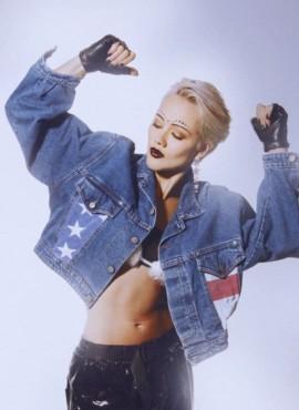 Костюм девушки из 90-х