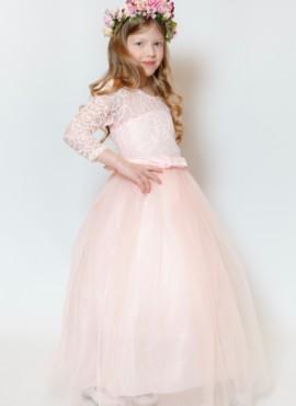 Нарядное весеннее платье