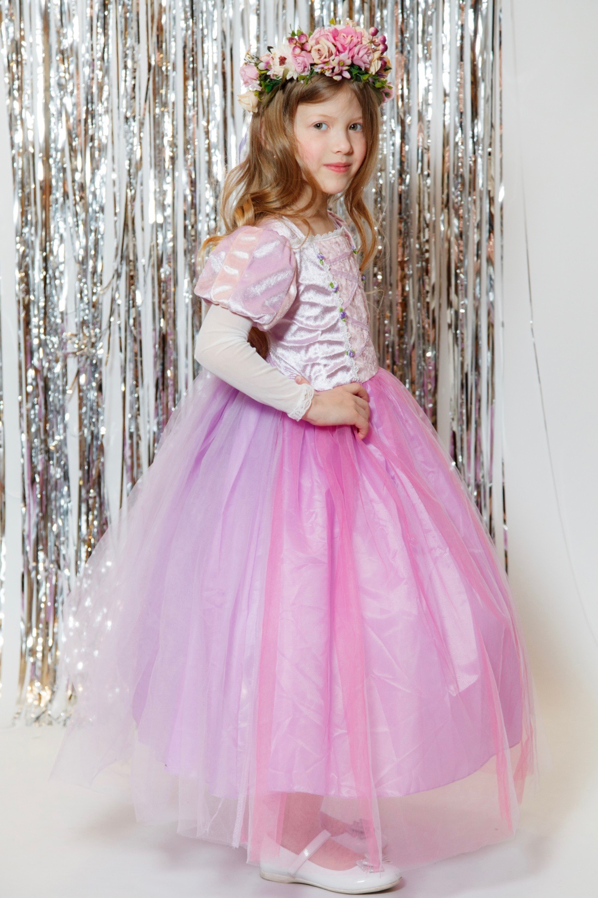 Платье Рапунцель из мультика Дисней   Retro Moda