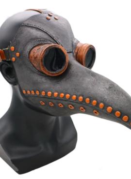 Маска ворона носилась во время чумы