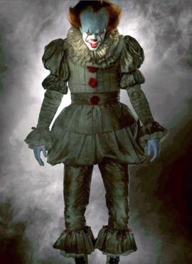 Костюм злого клоуна Пеннивайза из фильма «Оно».