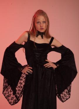Костюм ведьмы/ Средневековое платье