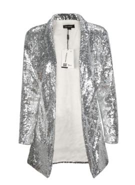 Пиджак в серебренный пайетку (унисекс)