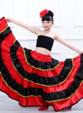 Юбка циганская, Кармен, для танца Фламенко