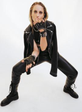 Образ девушки рокера